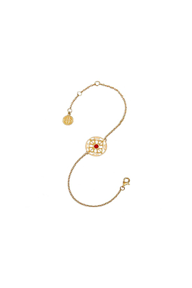 The Rhythm of Life Yellow Gold Bracelet
