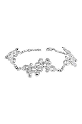 Sterling Silver Fiery Bracelet
