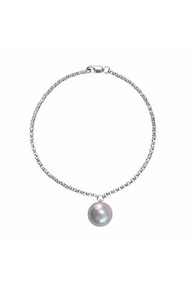 Sterling Silver Alba Grey Pearl Bracelet