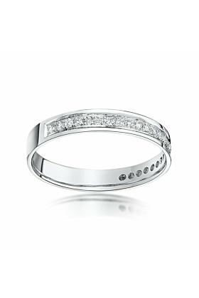 18kt White Gold & Diamond Eternity Wedding Ring