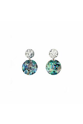 Paua Shell Statement Earrings