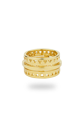 Electric Gold Ring