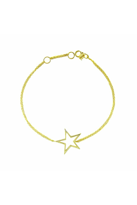 Portobello Yellow Gold Starry Night Bracelet