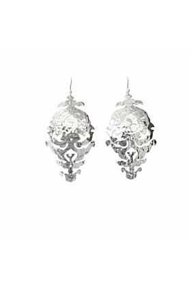 Sterling Silver Empire Drop Earrings