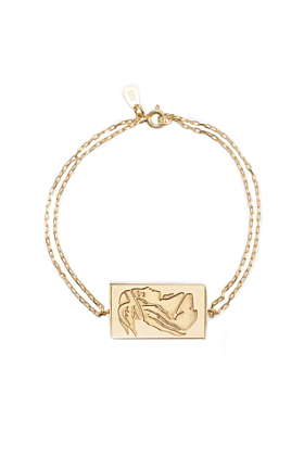 24kt Yellow Gold Plated Celestial Days - Frigg's Day Bracelet