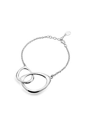 Sterling Silver Together Bracelet