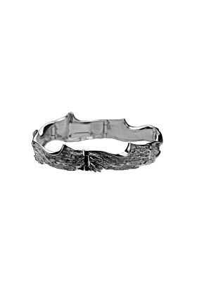 Sterling Silver Freezing February Bracelet