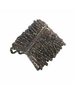 18kt Black Gold Labradorite Bracelet