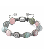 Beryl Macrame Bracelet