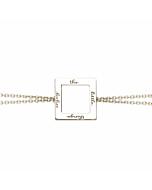 Enjoy the Little Things Chain Bracelet