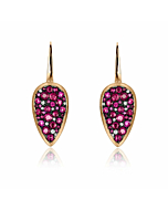 Starstruck Earrings With Rubies