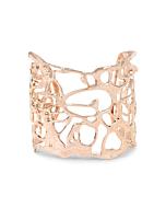 Rose Gold Botswana Fluidity Cuff Bracelet
