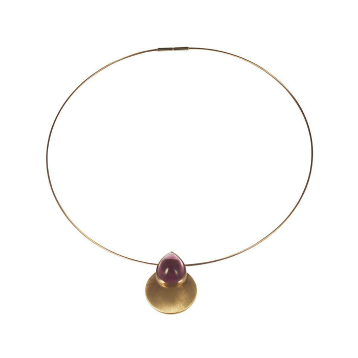 Yellow Gold Perfect Sunset Necklace   Goldspindel