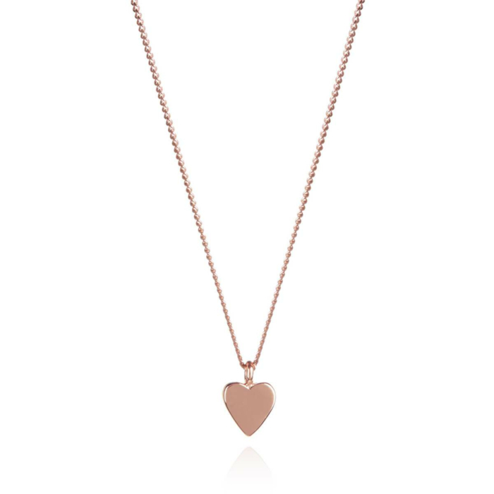 Rose Gold Plated This Little Heart Of Mine Necklace