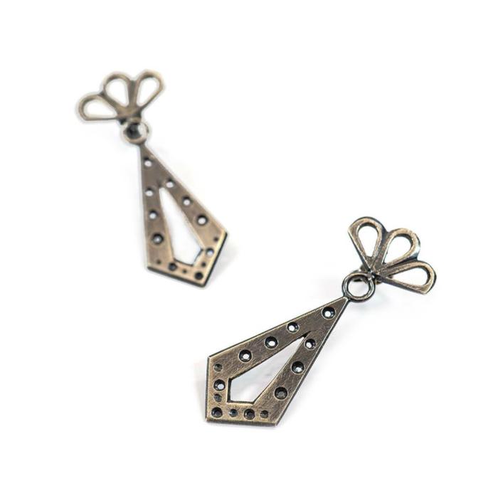 Sterling Silver Cleo Earrings
