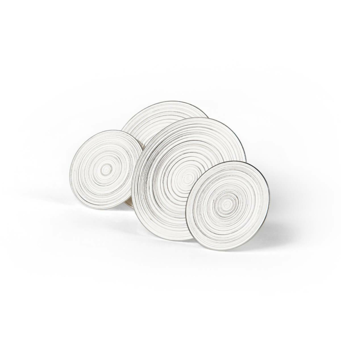 Sterling Silver Orbit Earrings