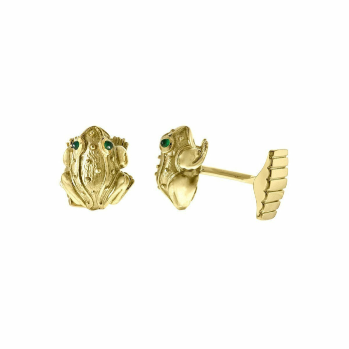 Frog Cuff Links
