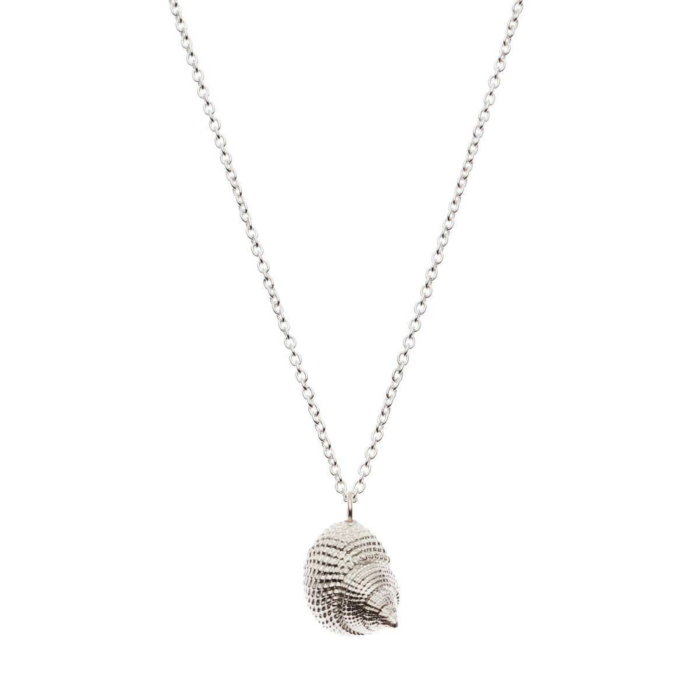 Sterling Silver Oceania Whelk Necklace