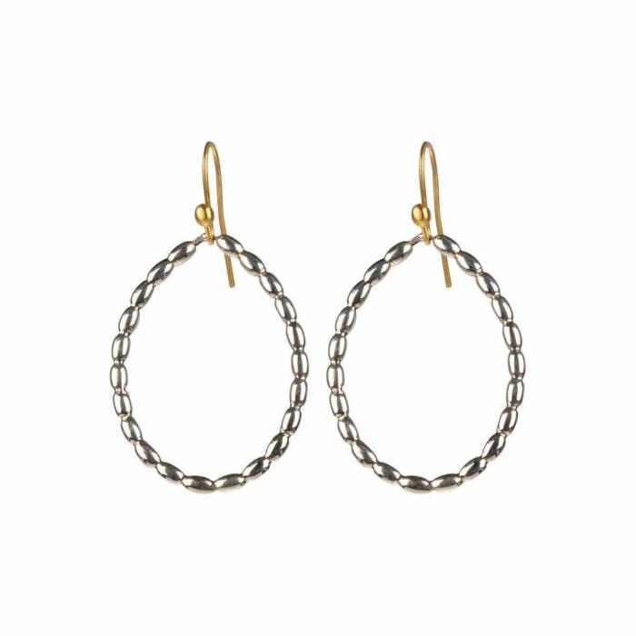Gold & Silver Gouttes De Soleil Earrings | juniimjuli