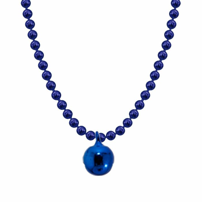 Allumette Bell Necklace - Royal Blue