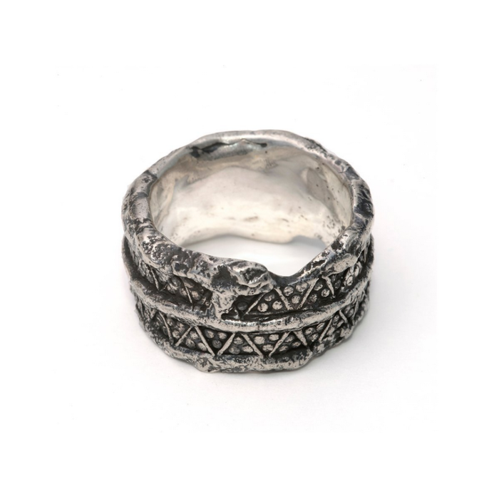 Sterling Silver Paganus Ring II