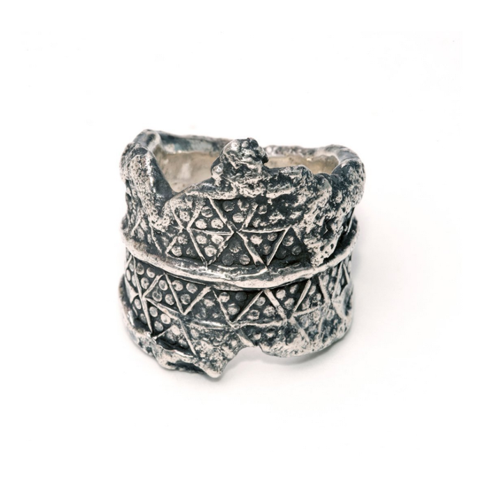 Sterling Silver Paganus Ring