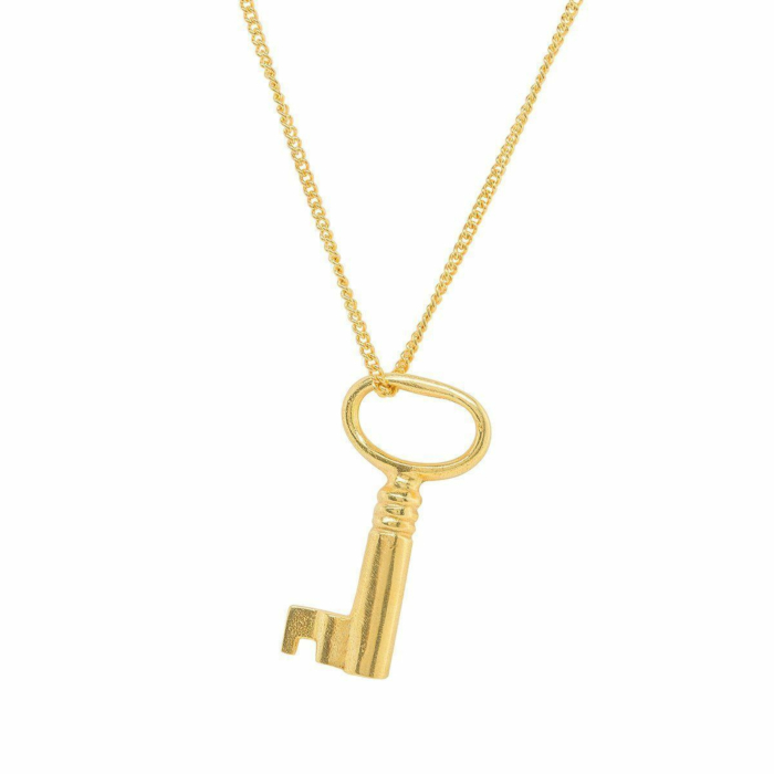 Adult Gold Plated Key Charm
