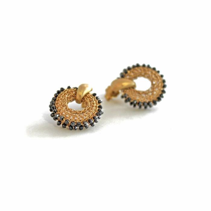 Goddess Sun Link Earrings