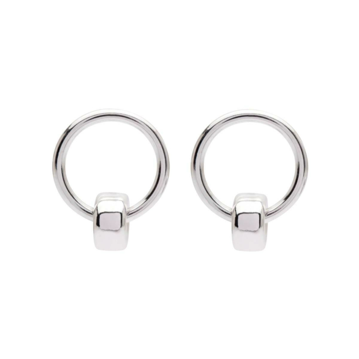 Sterling Silver Petite 1 Studs
