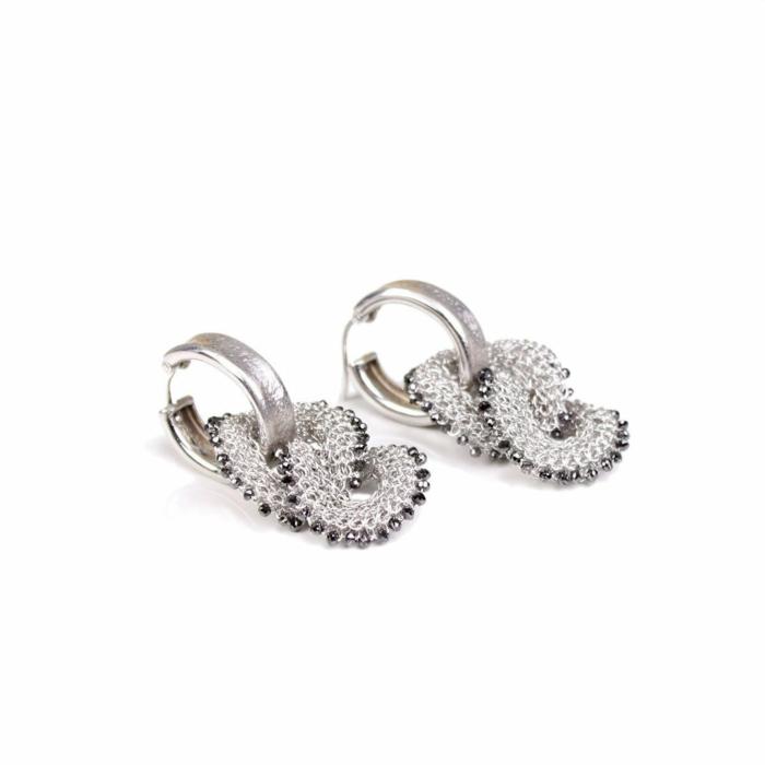 Goddess Link Twist Earrings
