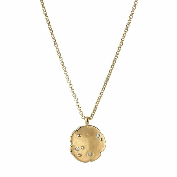 Cosmos Necklace Gold