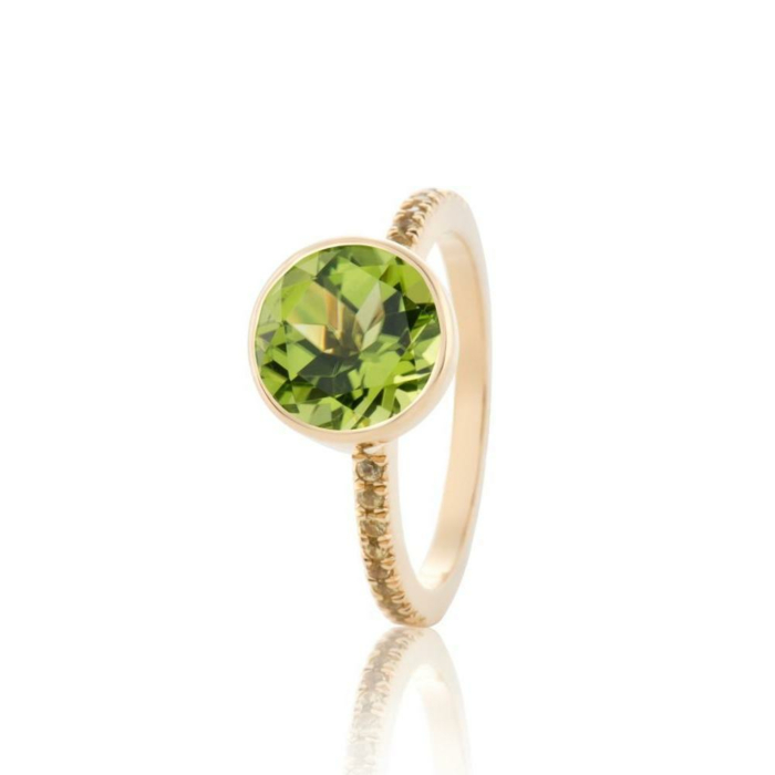Peridot Jazz ring