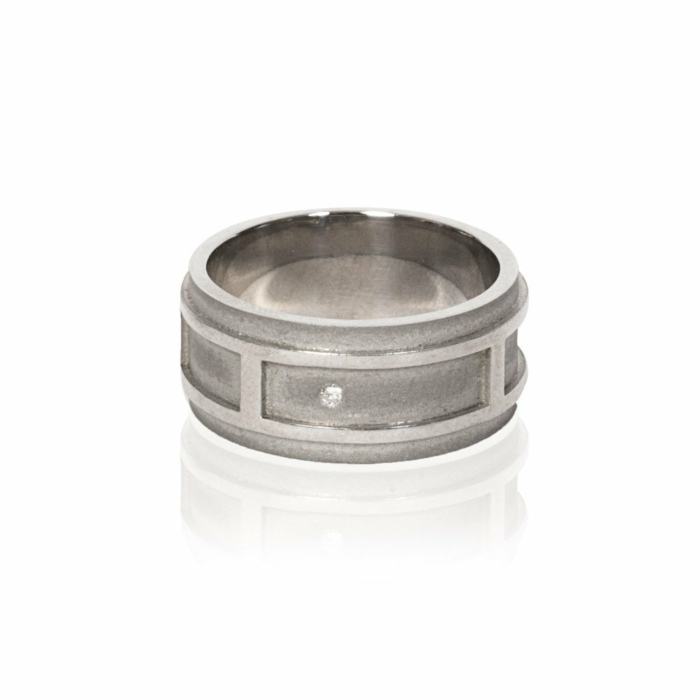 The Sculpted Architect Ring