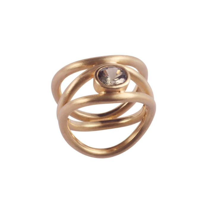 Gold View Through A Window Ring | Goldspindel
