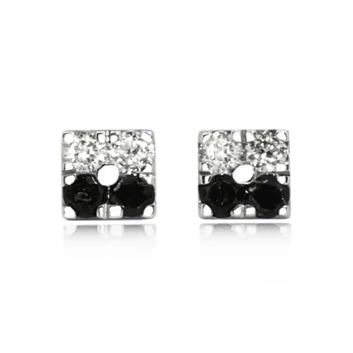 Opia Duo Square Earrings