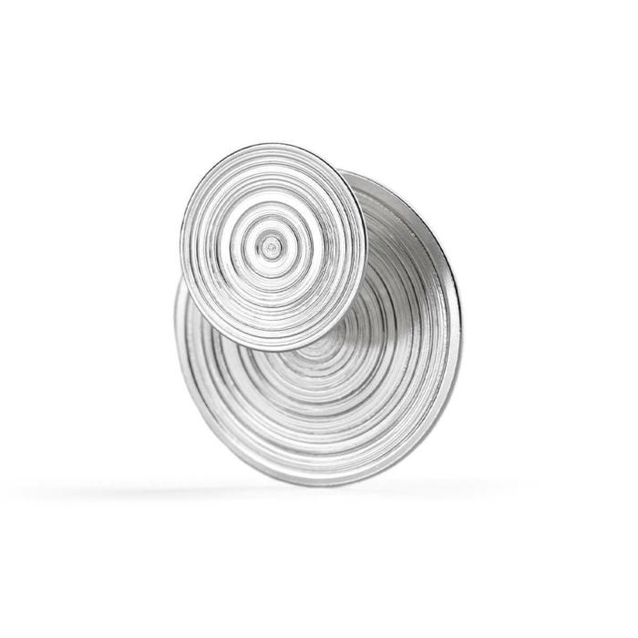 Sterling Silver Double Sided Orbit Earrings