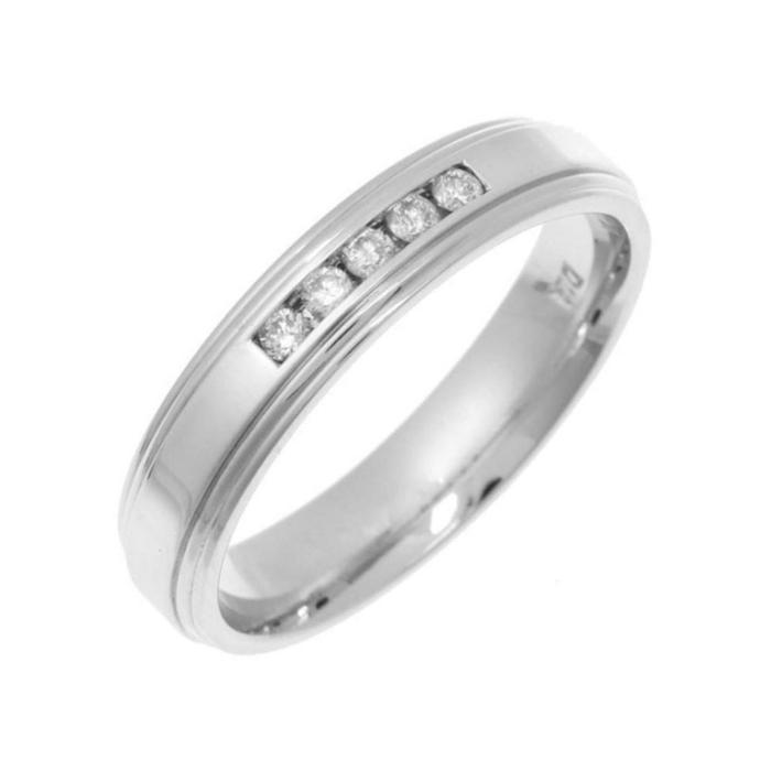 9kt White Gold Diamond Eternity Ring
