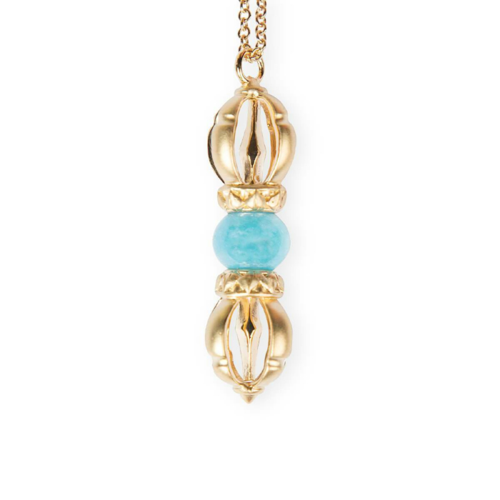 The Ocean of Infinity Yellow Gold Necklace