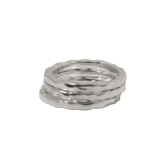Sterling Silver Free Layering Ring Stack