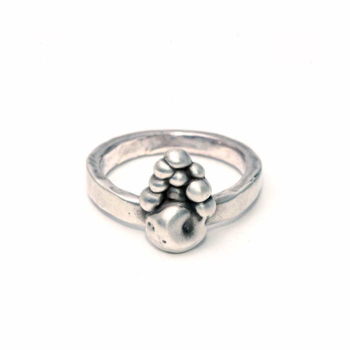 Sterling Silver Turris Ring