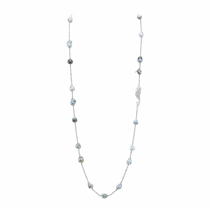 Baroque Tahitian Cultured Pearl Necklace