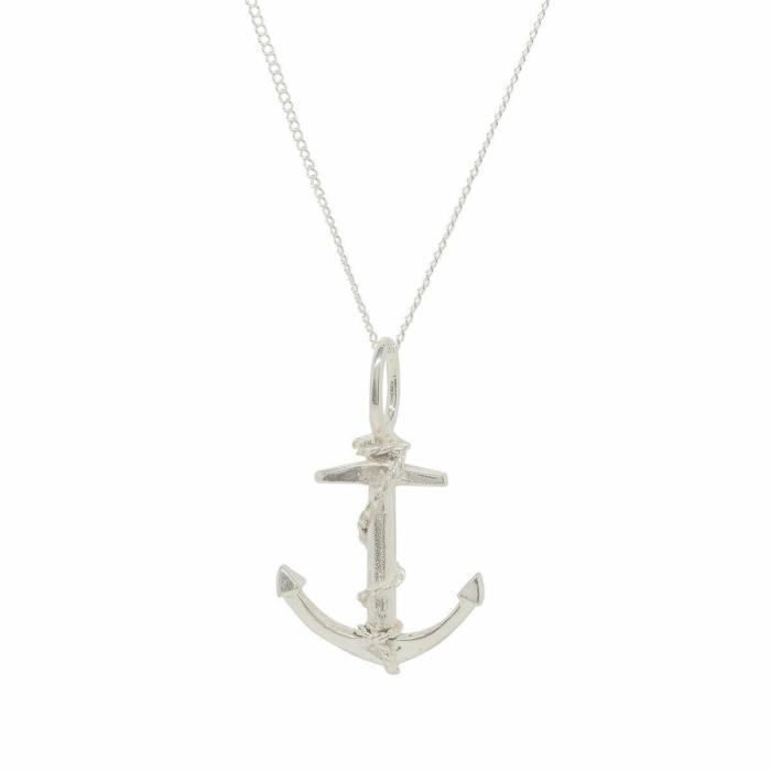 Anchor Silver Charm