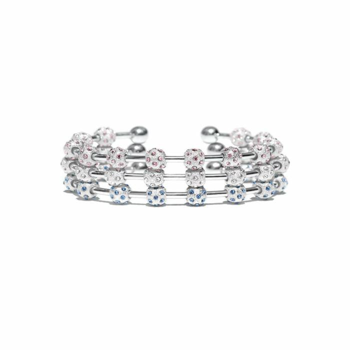 Bella Crystal Stack Bracelet