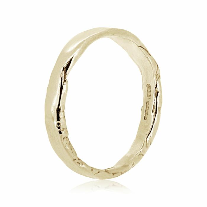 Tavy Yellow Gold Ring