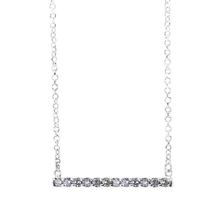 Opia White Necklace
