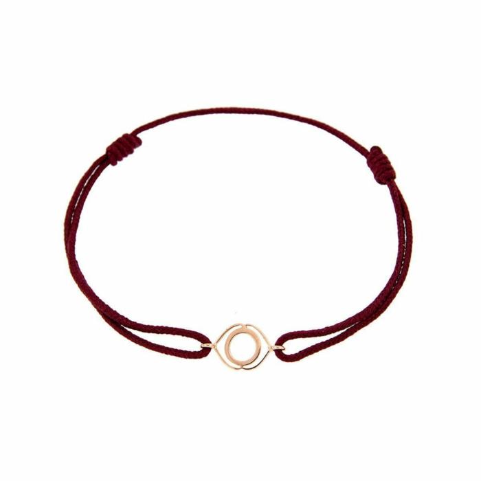 Rose Gold & Thread Ajna Bracelet | Tiny-Om