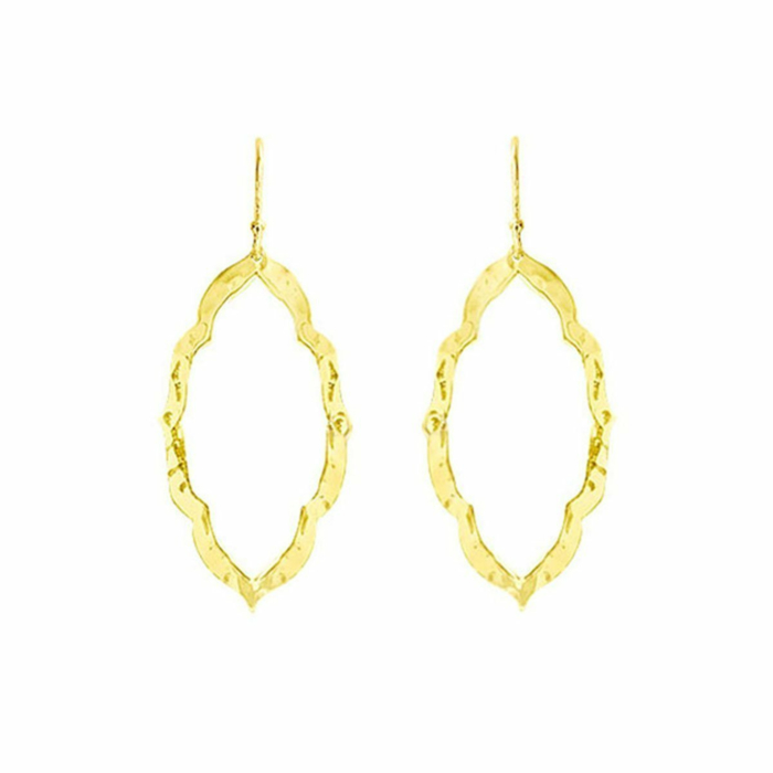 Gold Nomad Drop Earrings