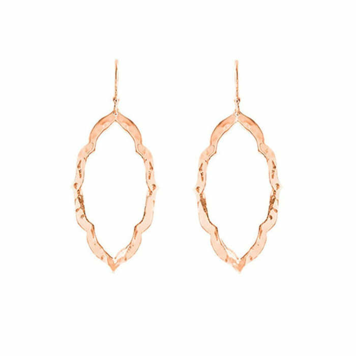 Rose Gold Nomad Drop Earrings