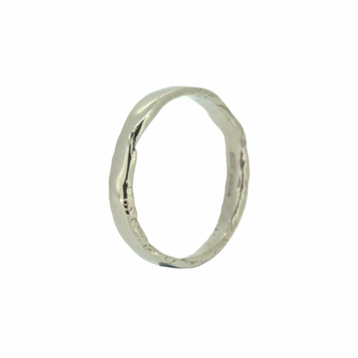 Tavy White Gold Ring