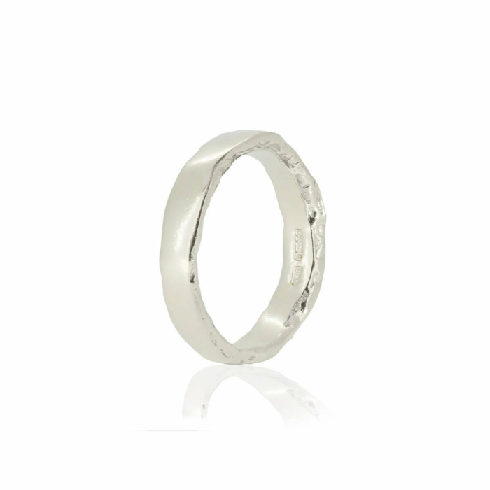 Sid White Gold Ring